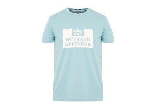 Weekend Offender Weekend Offender Prison logo t-shirt Cloud Blue