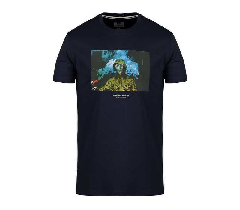 Weekend Offender Fusee t-shirt Navy