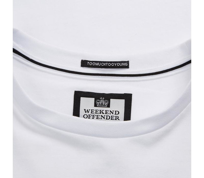 Weekend Offender Fusee t-shirt White