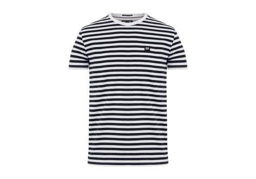 Weekend Offender Weekend Offender Flamenco striped t-shirt Navy/White