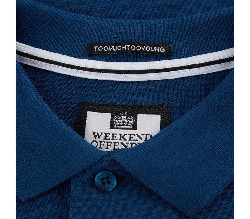 Weekend Offender Caneiros polo Aegean Blue