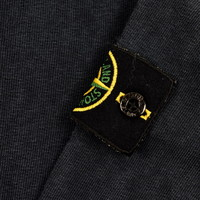 Stone Island navy tinto old cotton fleece crew neck sweatshirt M