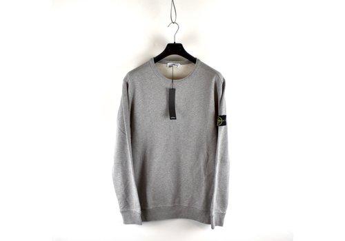 Stone Island Stone Island grey cotton fleece crew neck sweatshirt XXL