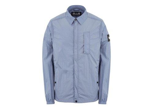 Weekend Offender Weekend Offender Sorvino overshirt jacket Steel Blue