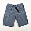 Stone Island Stone Island blue nylon metal patch program cargo shorts S