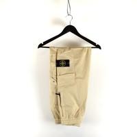 Stone Island beige re-t cargo trousers 29