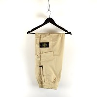 Stone Island beige re-t cargo trousers 32
