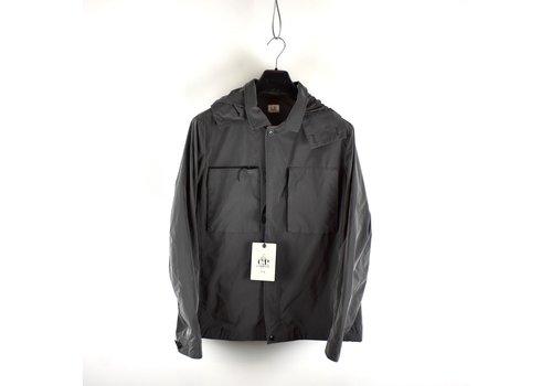 C.P. Company C.P. Company grey microfiber mille miglia goggle overshirt jacket XXL