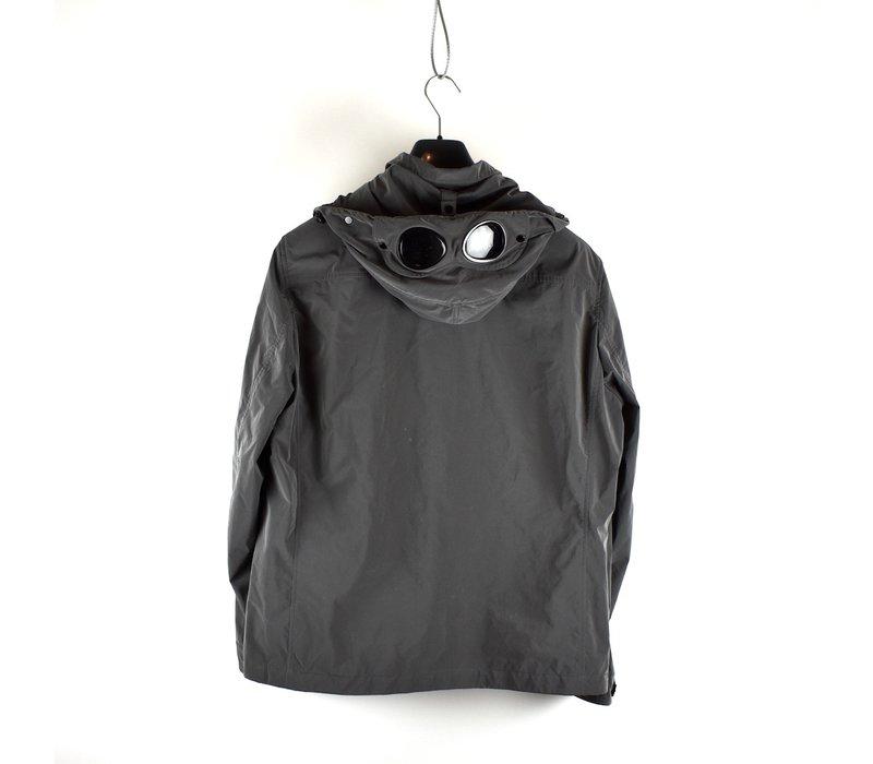 C.P. Company grey microfiber mille miglia goggle overshirt jacket XXL