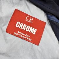 C.P. Company navy chrome nylon mille miglia goggle jacket 52