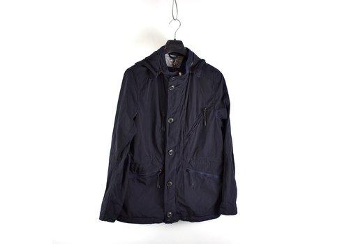 C.P. Company C.P. Company navy chrome nylon mille miglia goggle jacket 52