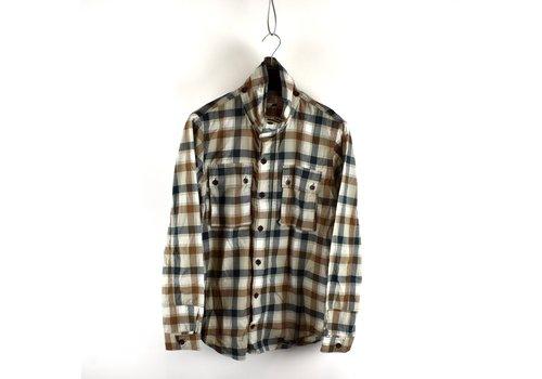 C.P. Company C.P. Company checked hooded cotton overshirt M