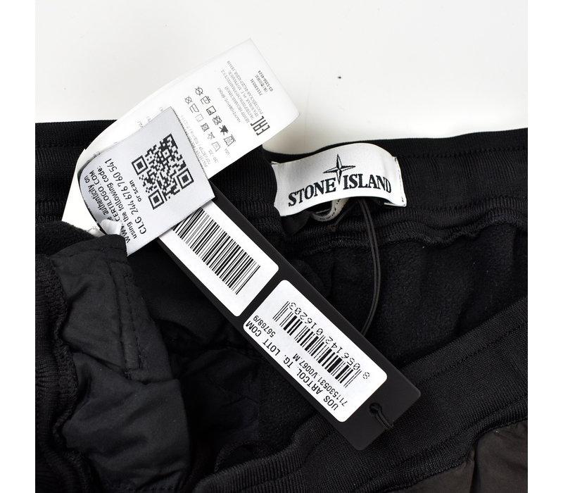 Stone Island black grey david light-tc with micropile trousers size M