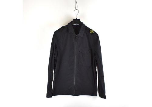 Stone Island Stone Island black naslan light shoulder badge overshirt jacket XL