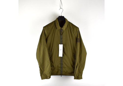Stone Island Stone Island green monchromatic ghost reversible overshirt jacket L - Copy