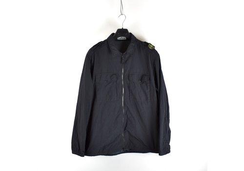 Stone Island Stone Island black naslan light shoulder badge overshirt jacket M - Copy