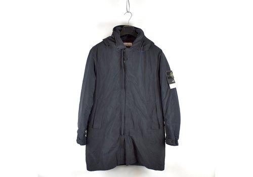 Stone Island Stone Island dark navy micro reps primaloft trench coat XL