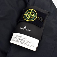 Stone Island dark navy micro reps primaloft trench coat XL