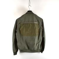 Stone Island shadow project grey naslan bomber jacket L