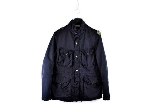 Stone Island Stone Island navy shoulderbadge microfiber field jacket XL