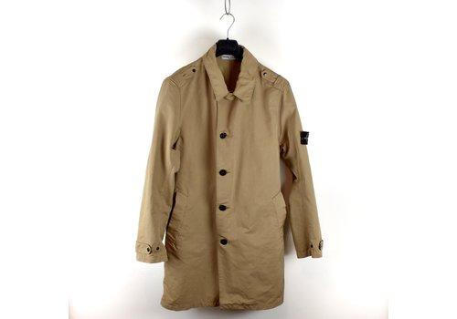 Stone Island Stone Island beige microfiber belted trench coat XL