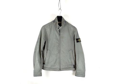 Stone Island Stone Island grey micro reps biker jacket M