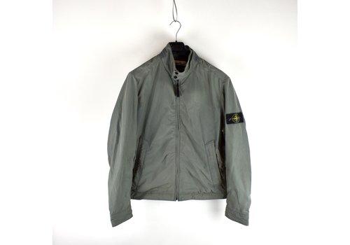 Stone Island Stone Island grey micro reps biker jacket XXL