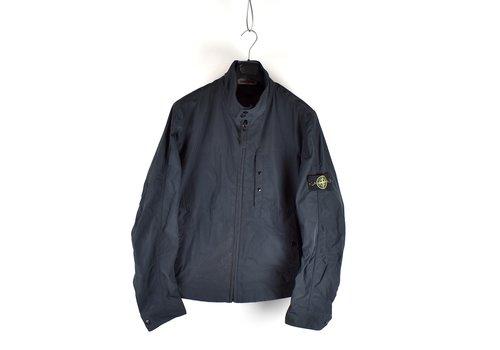 Stone Island Stone Island navy micro reps biker jacket XXXL
