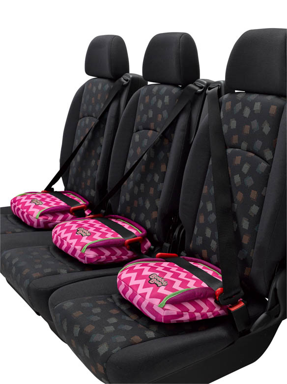 Bubblebum Inflatable Booster Seat | Pink-5