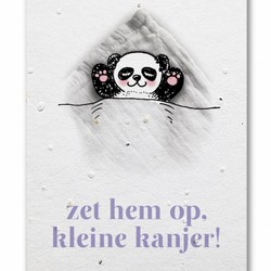 Groeikaart Panda Kanjer