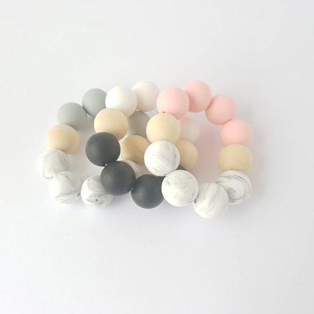 Chewies & more Basic Chewie Mini Marble / Lichtgrijs