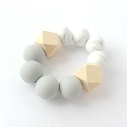 Hexa Chewie mini Marble / Lichtgrijs