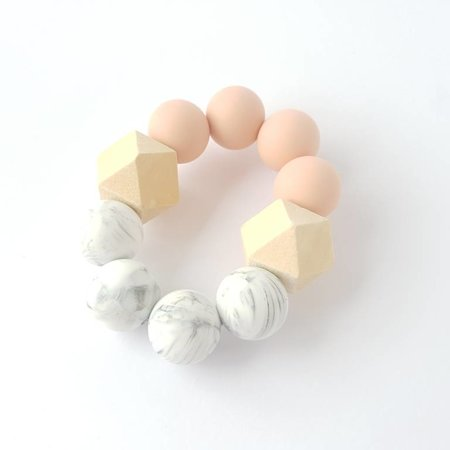 Chewies & more Hexa Chewie mini Marble / Perzik