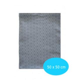 Graphic Blauw maxi 50x50
