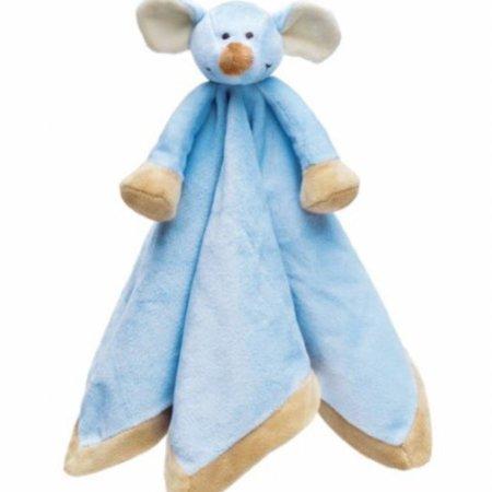 Teddykompaniet Diinglisar Knuffeldoekje Blauwe Muis