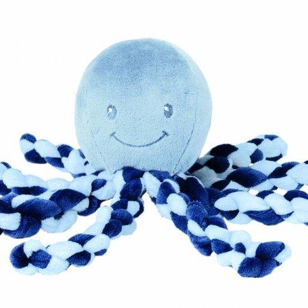 Nattou Nattou Octopus PiuPiu Blauw