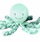 Nattou Nattou Octopus PiuPiu Groen/Mint