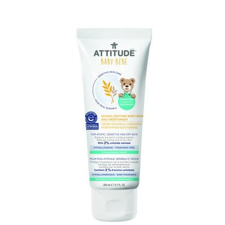 Attitude - Little Ones - Baby Attitude natural soothing bodycream daily mosturizer