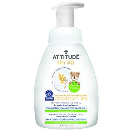 Attitude - Little Ones - Baby Attitude Sensitive Hair Body Foam Wash
