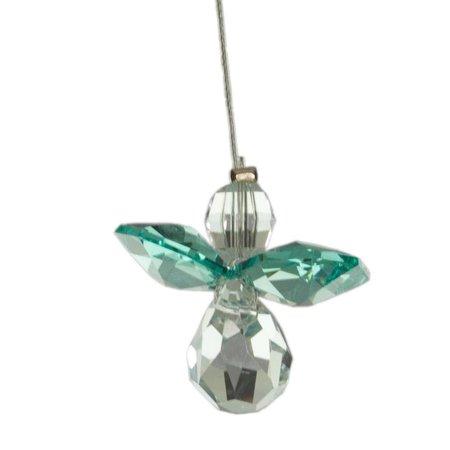 Wild Things Crystal Engel Blauwe Topaas (december) geboorte engeltje