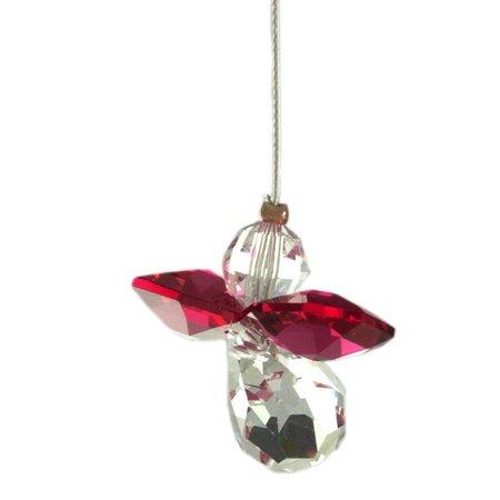 Wild Things Crystal Engel Robijn (juli) geboorte engeltje