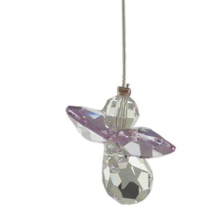 Wild Things Crystal Engel Maansteen Light Amethyst (Juni) geboorte engeltje