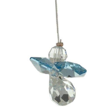 Wild Things Crystal Engel Aquamarine (maart) geboorte engeltje