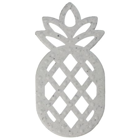Logan & Alice Ananas Teether Granite  Bijtfiguur
