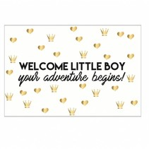Welcome Little Boy kaartje
