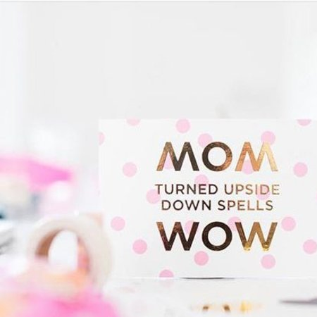 By Bird Kaartje: MoM / WoW