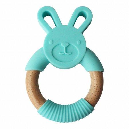 Chewies & more Bunny Lichtblauw Teether Konijn