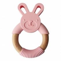 Bunny Roze Teether Konijn