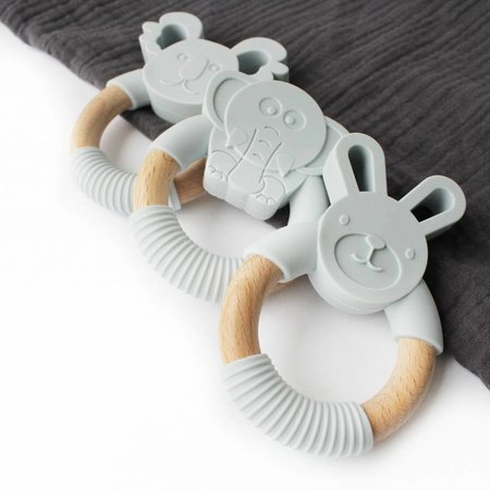 Chewies & more Koala Lichtgrijs Teether