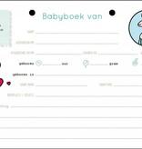 Kleine Kanga Invulboek voor prematuren, dysmaturen of ziekenhuisbaby